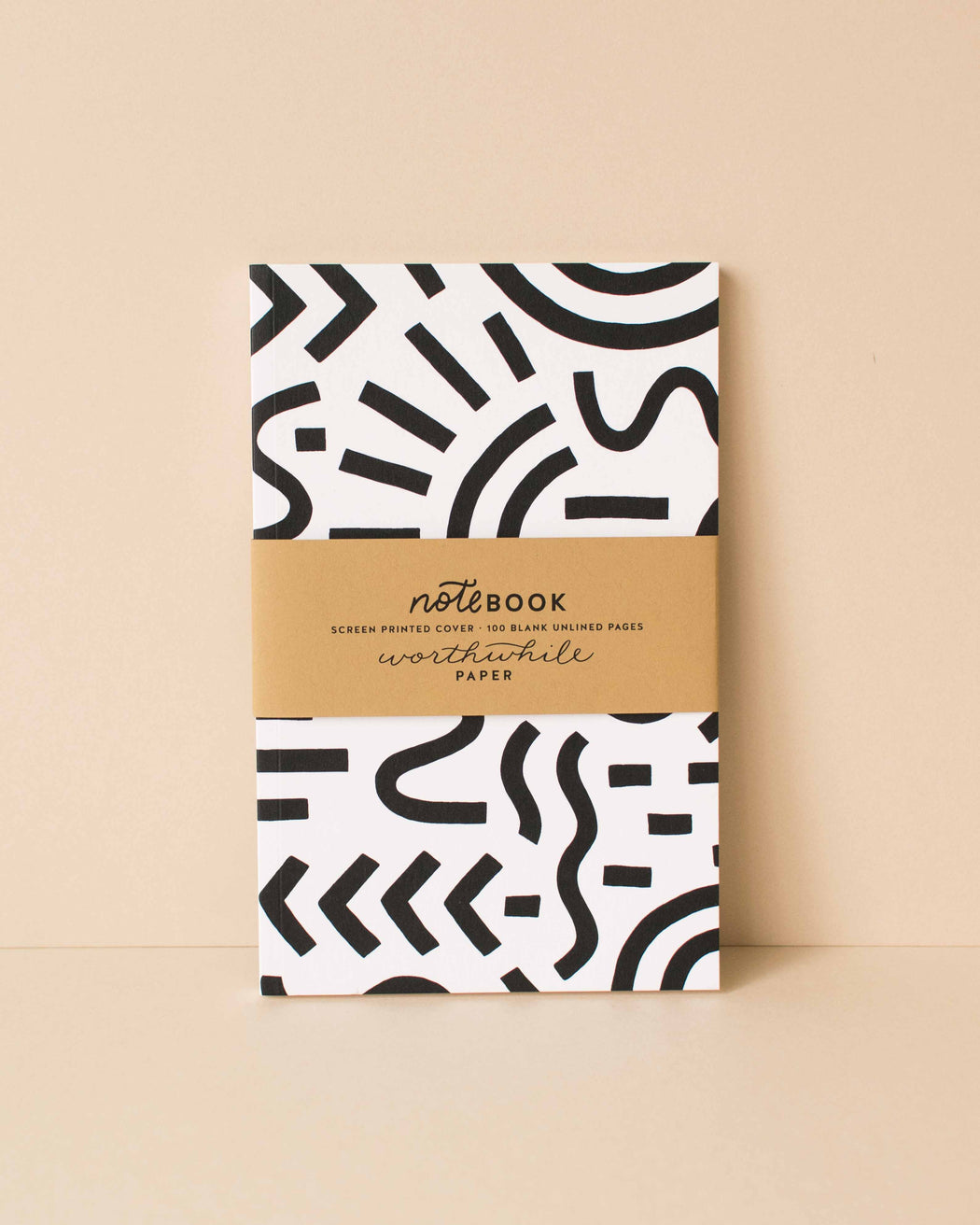 Worthwhile Paper - Curves & Lines Notebook