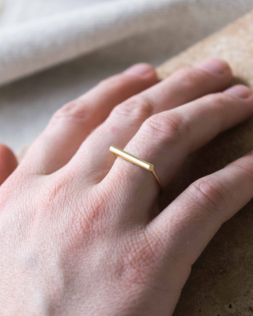 Ellen Mote Jewelry -Brass Ring