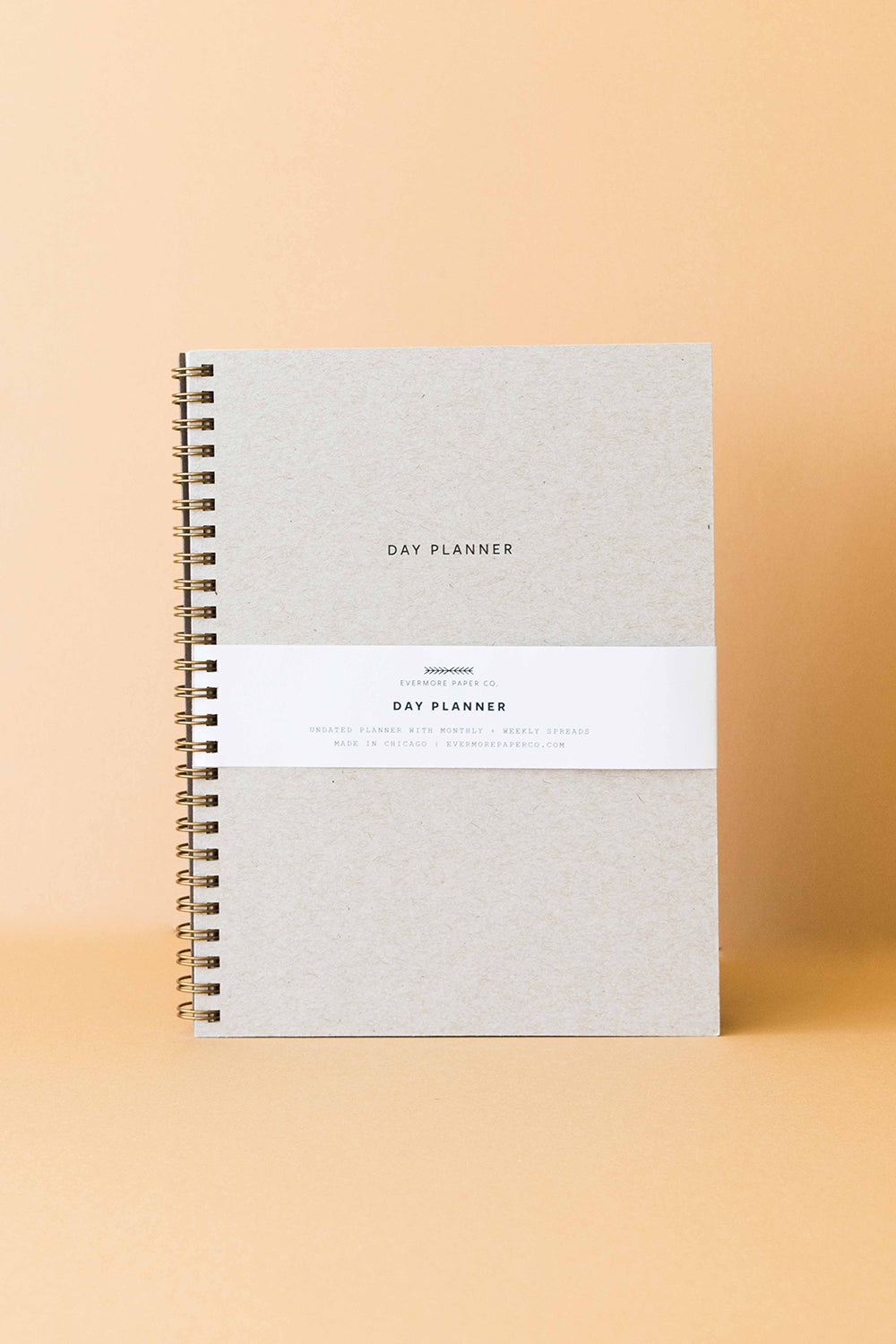 Evermore Paper Co. - Minimal Day Planner