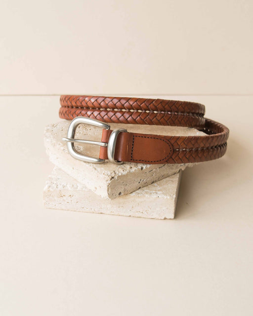 Coach Double Braided Belt
