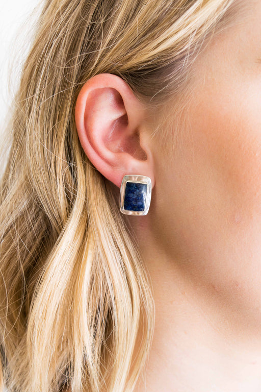 Sterling + Lapis Earrings