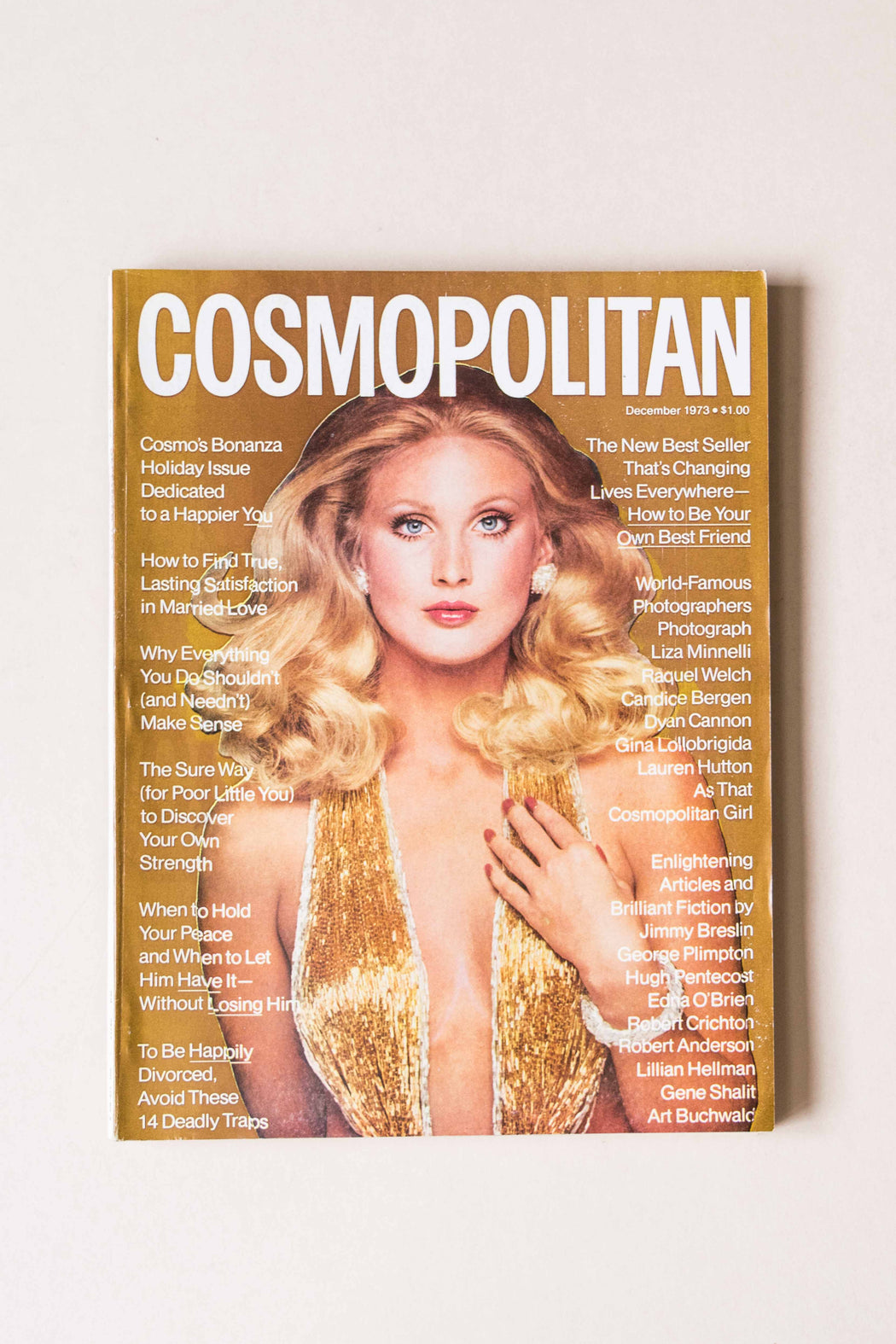 December 1973 Cosmo Magazine Kathy Spiers