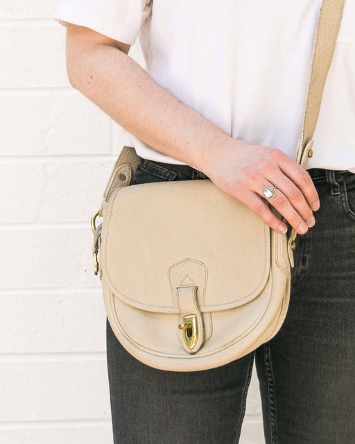 Cream Dooney Crossbody