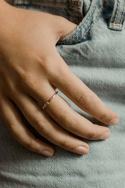 Finley Neomie Baguette Ring