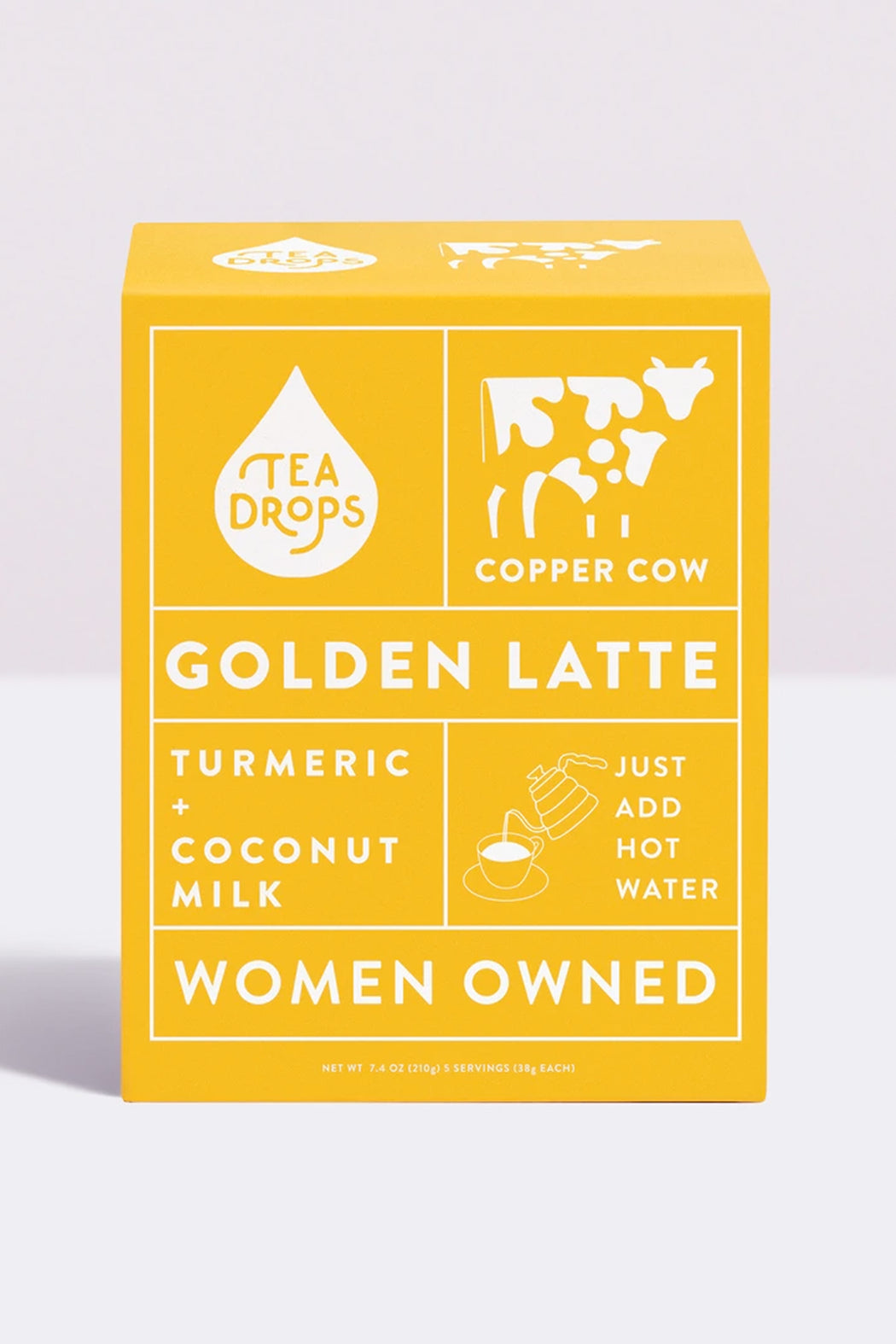 Copper Cow - Golden Latte Kit - Vegan