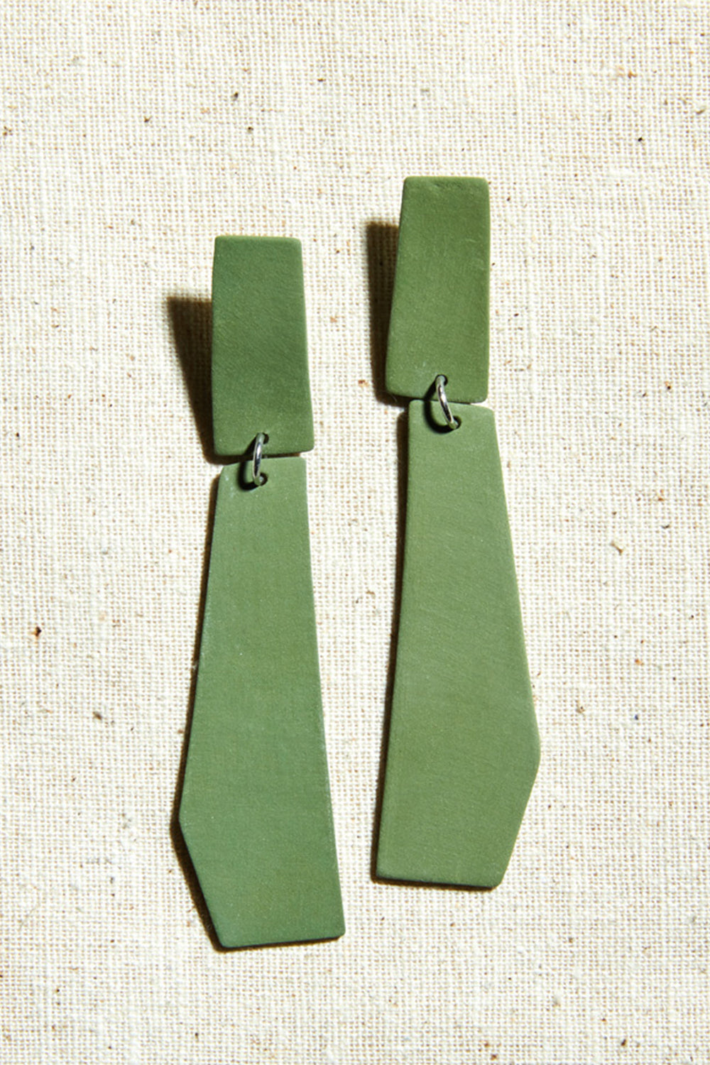 Dart Earrings - Four Eyes Ceramics