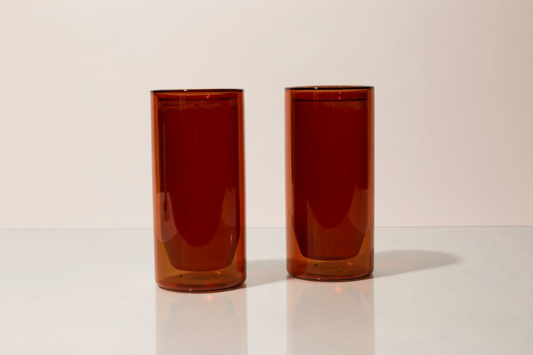 YIELD - 16 oz Double-Wall Glass Set