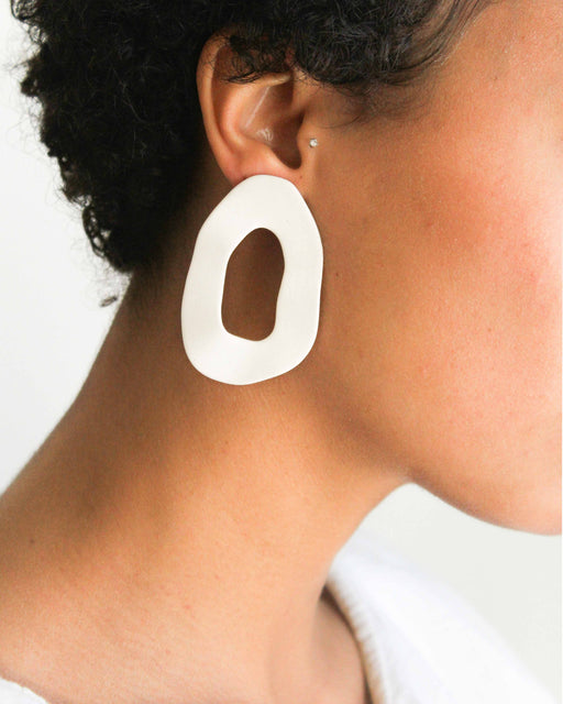 Cutout Earrings Four Eyes