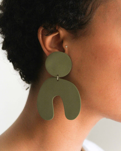 Big Arch Earrings - Four Eyes Ceramics