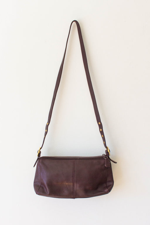 Maroon Etienne Agner Leather Purse