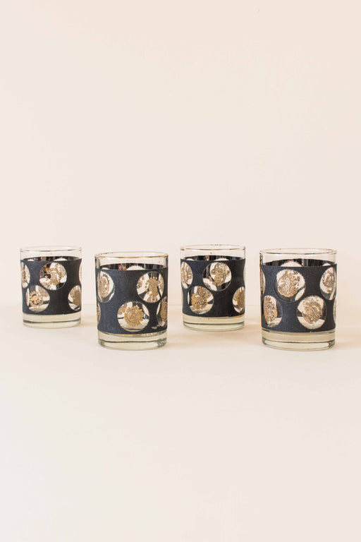 Black + Gold Coin Tumblers