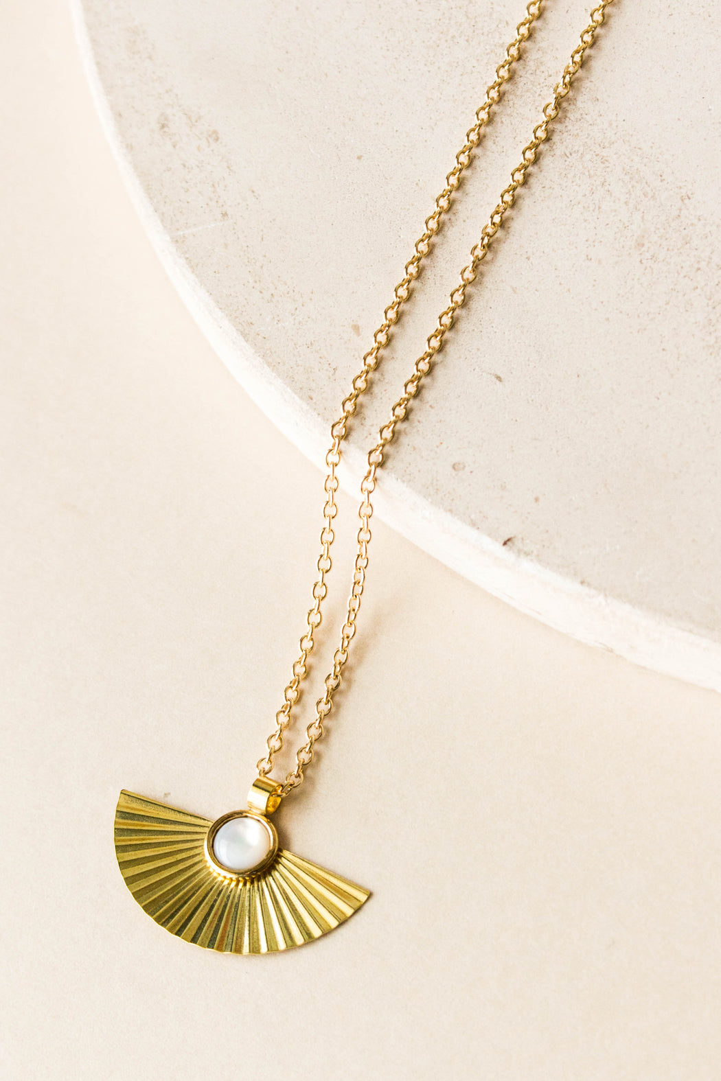 Michelle Starbuck - Pleat Necklace