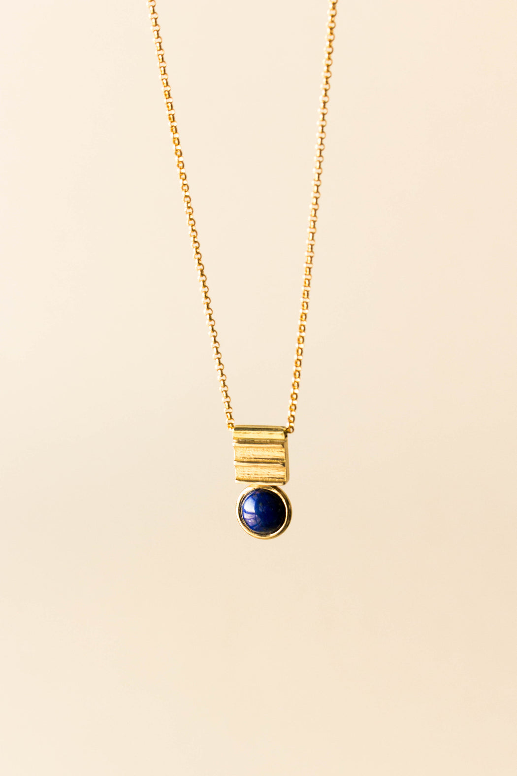 Michelle Starbuck - Lapis Equation Necklace
