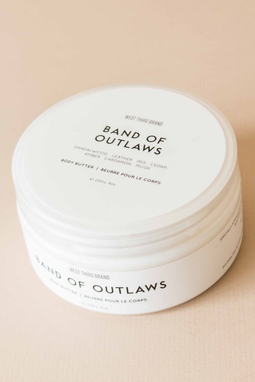 West Third Brand - Band Of Outlaws Body Butter