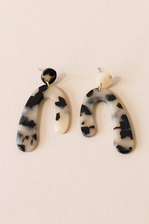 Arch Tortoise Earrings