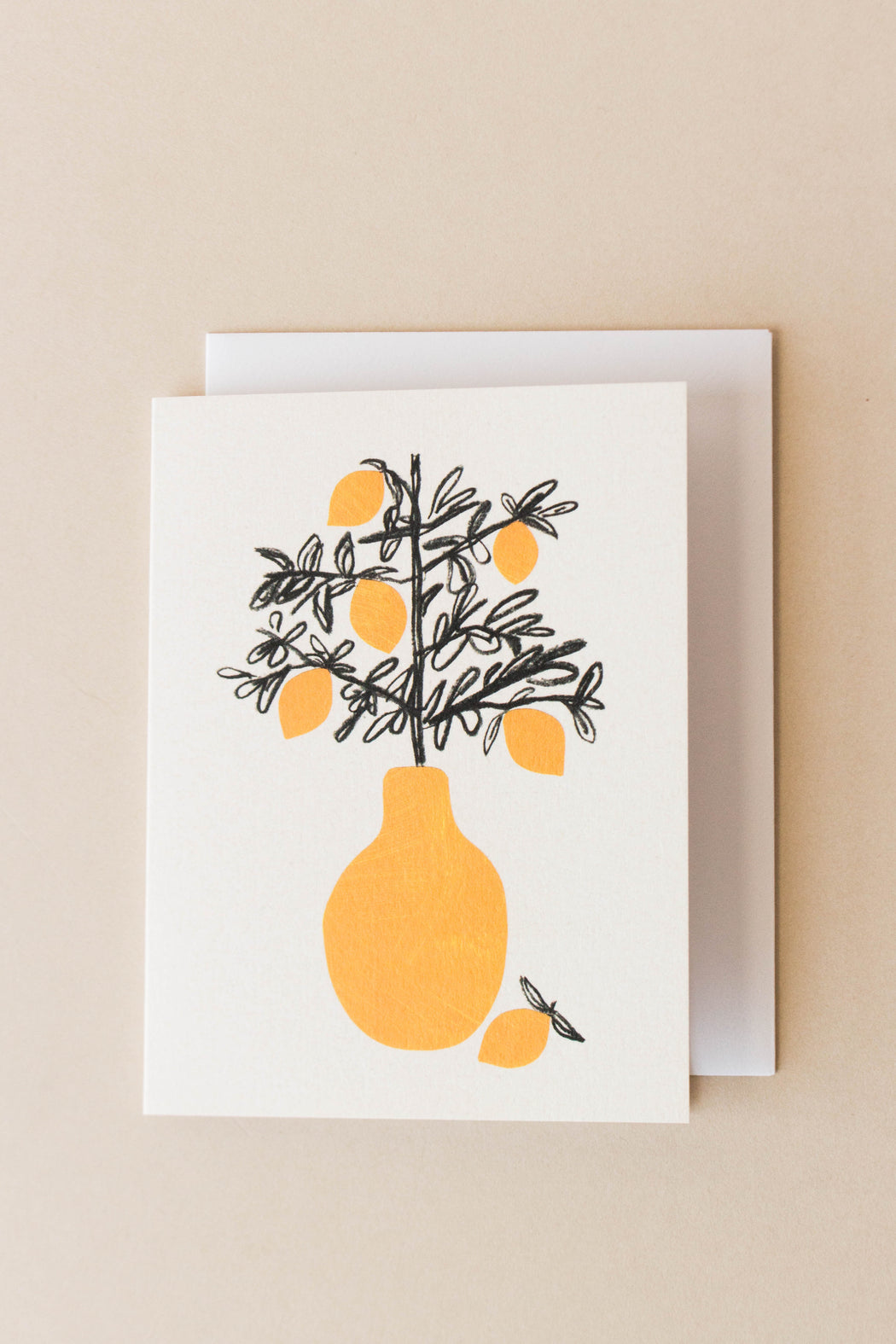 Wrap - Lemon Tree Mini Card