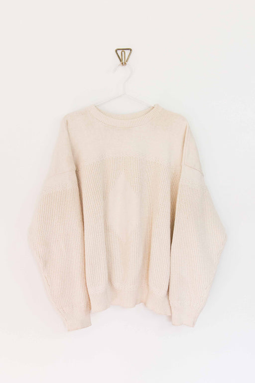 Cream Cotton Sweater