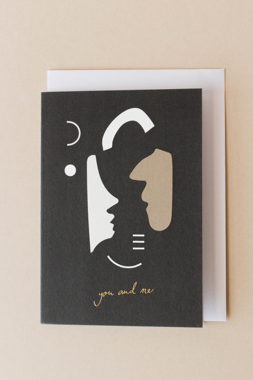 Kinshipped - You And Me Card