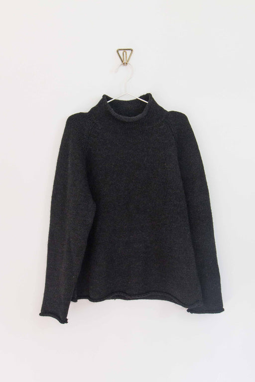 Charcoal J.Crew Wool Turtleneck Sweater