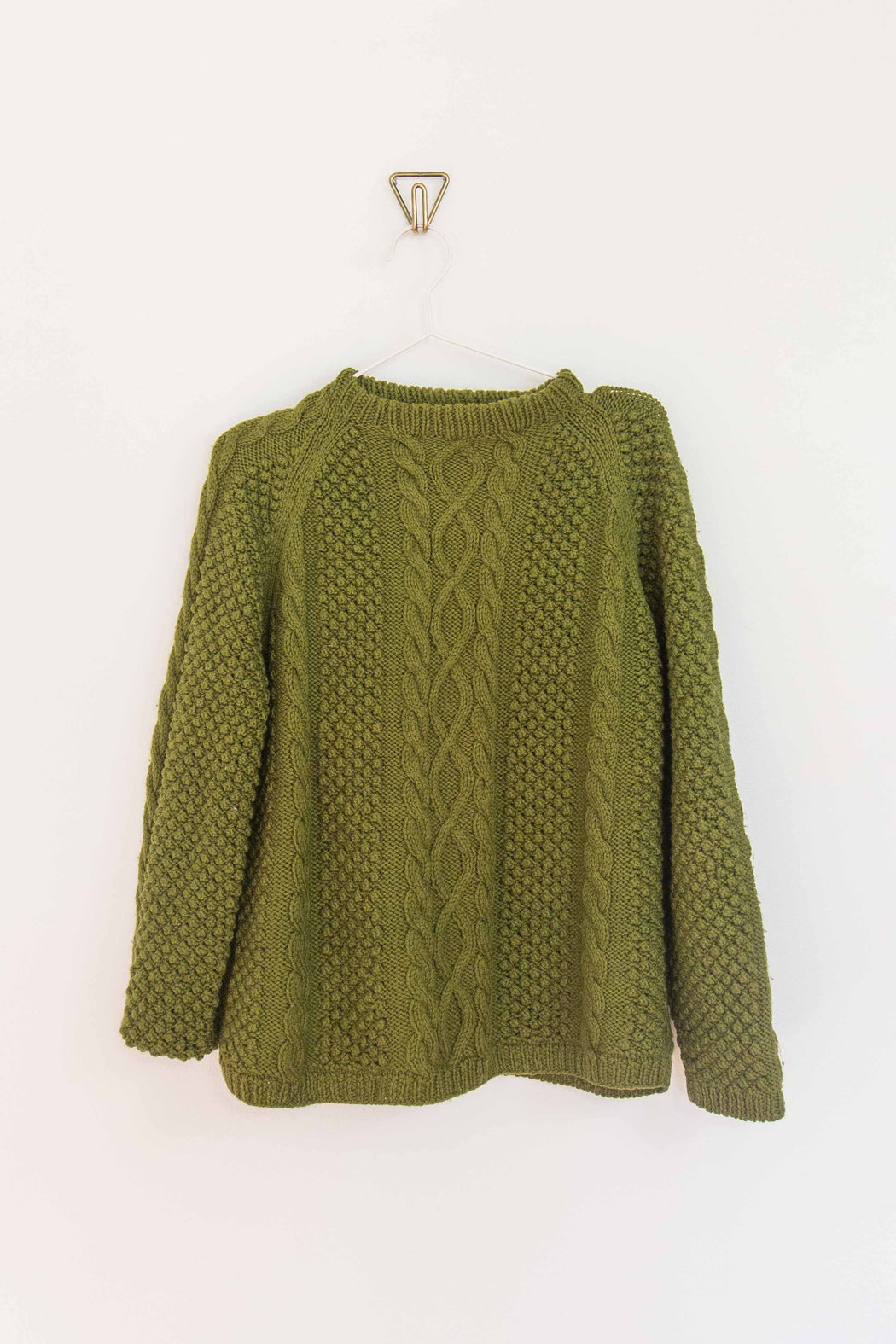 Olive Green Pullover Sweater