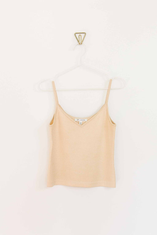 Cream St John Knit Tank