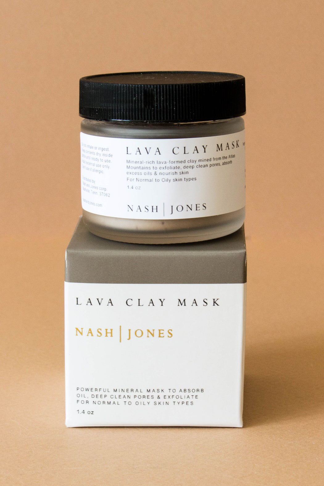 Nash & Jones - Lava Clay Mask