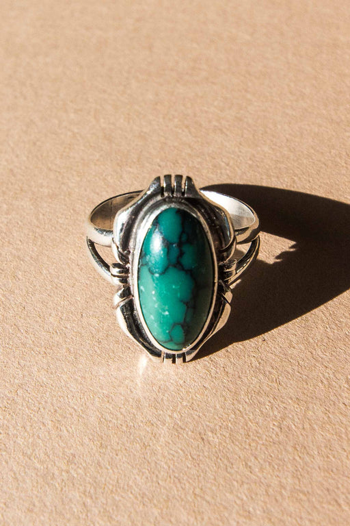 Turquoise + Sterling Ring