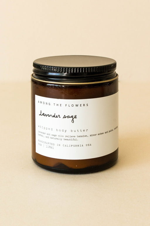 Among the Flowers - Lavender Sage Whipped Body Butter