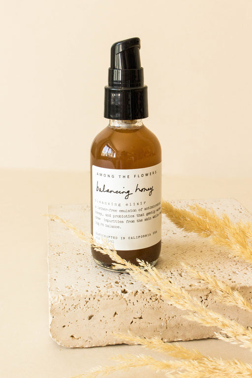 Among the Flowers - Balancing Honey Cleansing Elixir