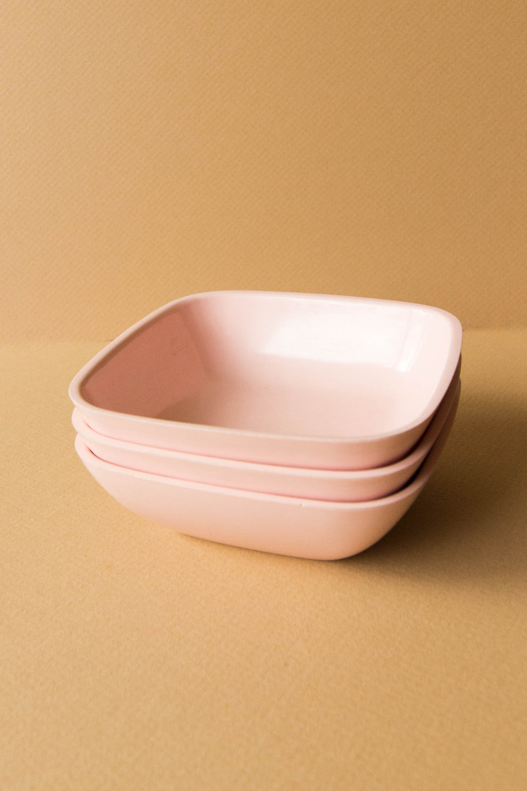 Pink Plastic Berry Bowl