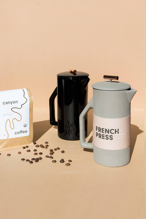 YIELD - Ceramic French Press