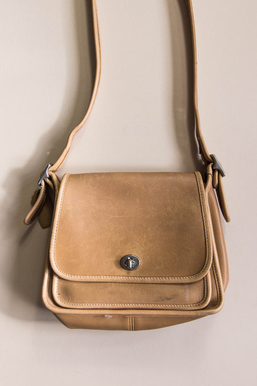 Light Brown Coach Crossbody