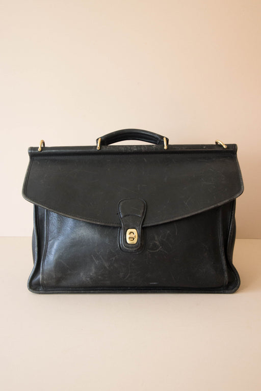 Black Coach Briefcase