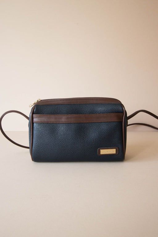 Navy + Brown Liz Claiborne Crossbody