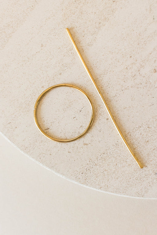 Desert Rose Jewelry - Circle Golden Sands Hair Pin