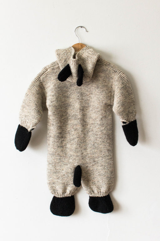 Handmade Knit Animal Onesie