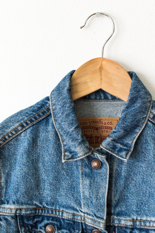 Kids Levi's Medium Wash Denim Jacket