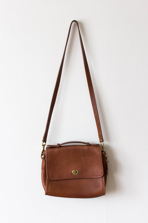 Brown Coach Crossbody