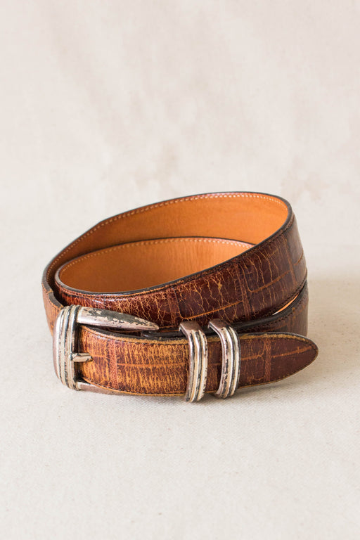Brown Leather Banana Republic Belt