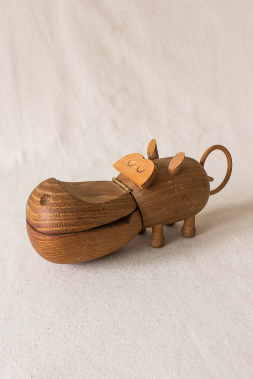 Zoo Line Wooden Hippo
