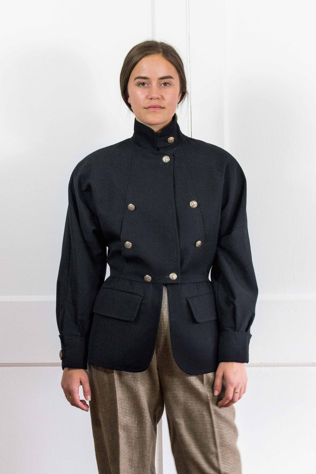 Karl Lagerfeld Black Army Jacket