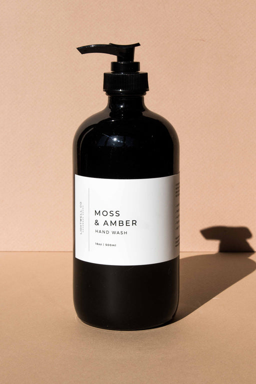 Lightwell Co - Moss & Amber Hand Wash