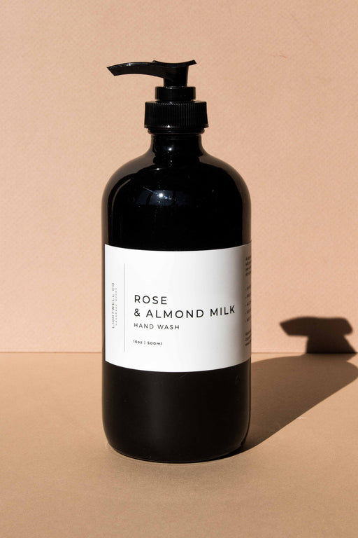 Lightwell Co - Rose & Almond Milk Hand Wash