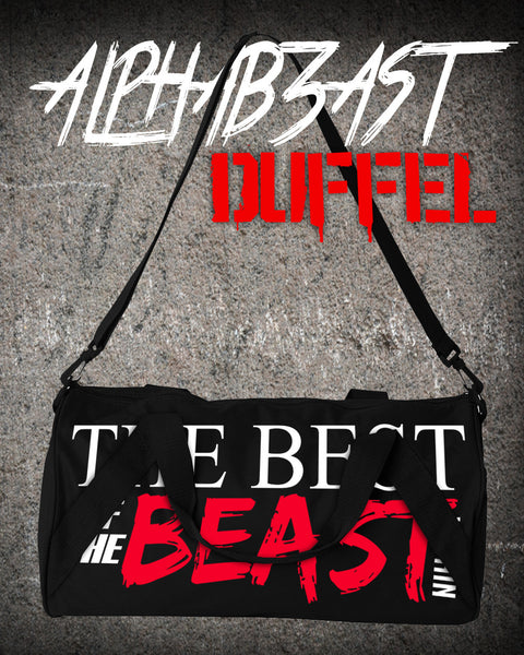 ALPHAB3AST | Duffel | BLACK/WHITE/RED