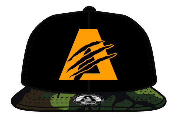 Black/Orange/Gren Camo| Limited Edition | AlphaB3AST™ | Snapback