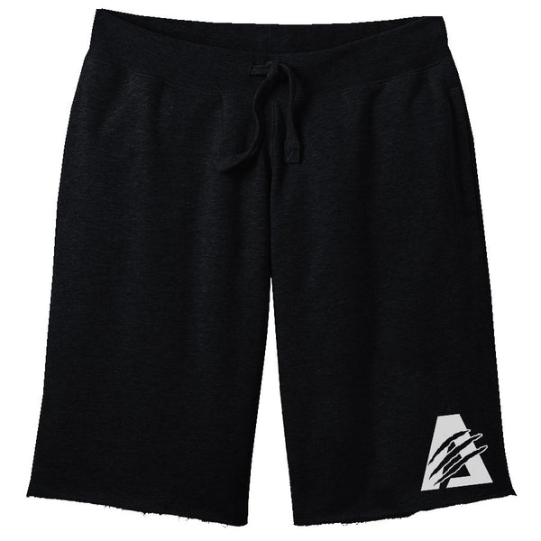 Black/White | Combat Sweat Shorts
