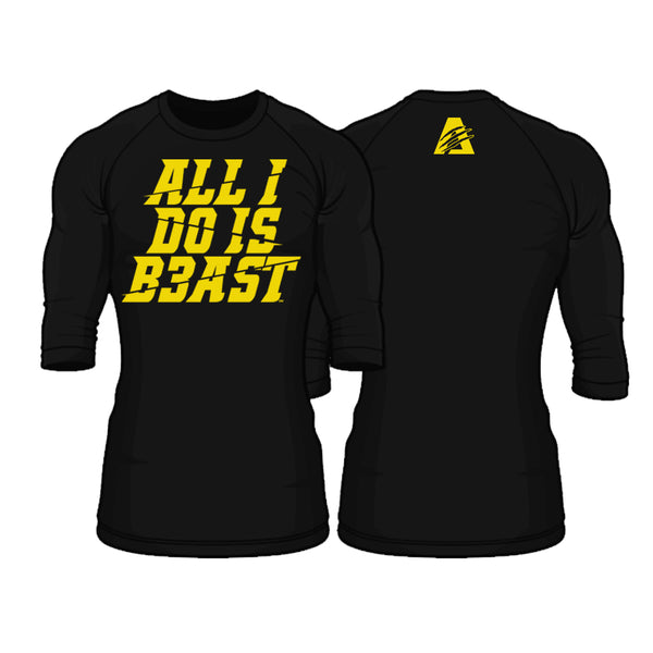 Black/Yellow | Perform Raglan