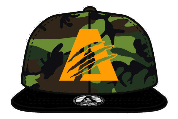Camo/Orange/Black| Limited Edition | AlphaB3AST™ | Snapback