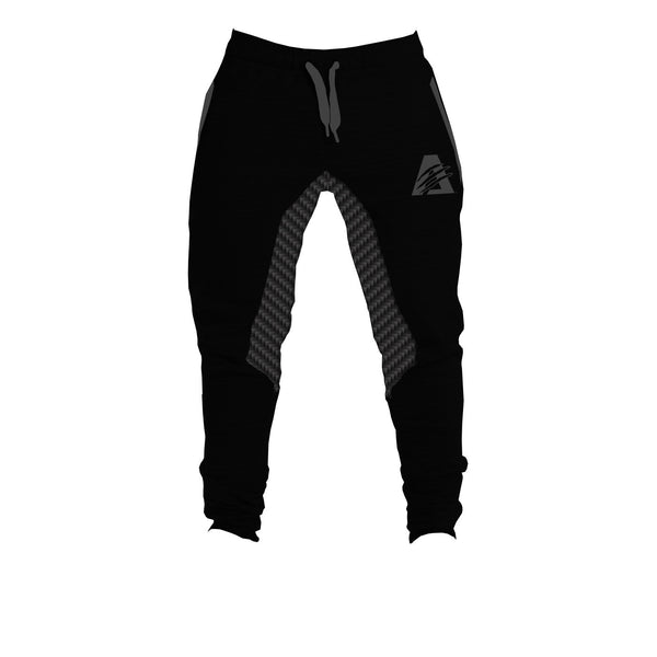 BLACK/BLACK CARBON | CARBONTECH™ | FITTED JOGGERS