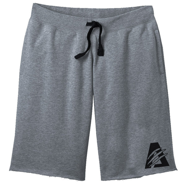 Grey/Black | Combat Sweat Shorts